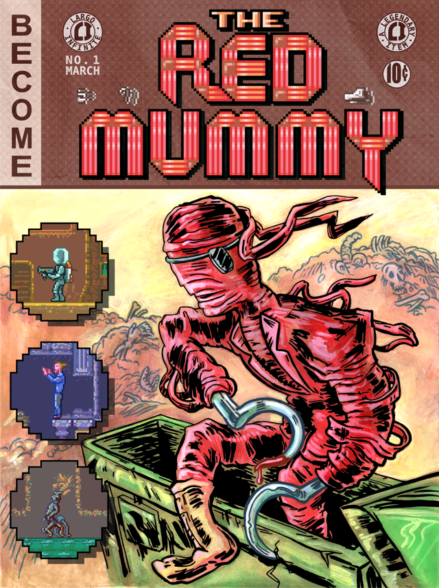 The Red Mummy