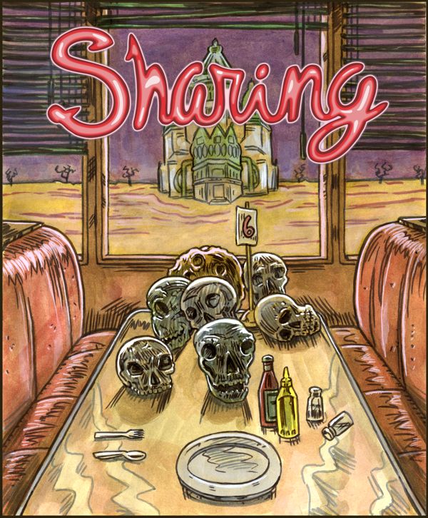 Sharing Diner Cover