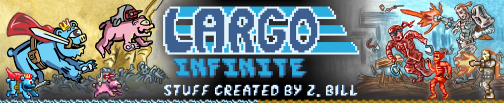Largo Infinite - Stuff Created by Z. Bill Taylor